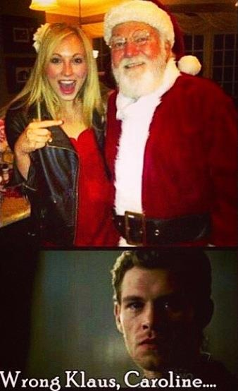 klaus and caroline dating in real life