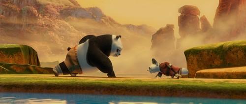 랜덤 바탕화면 entitled Kung Fu Panda <3