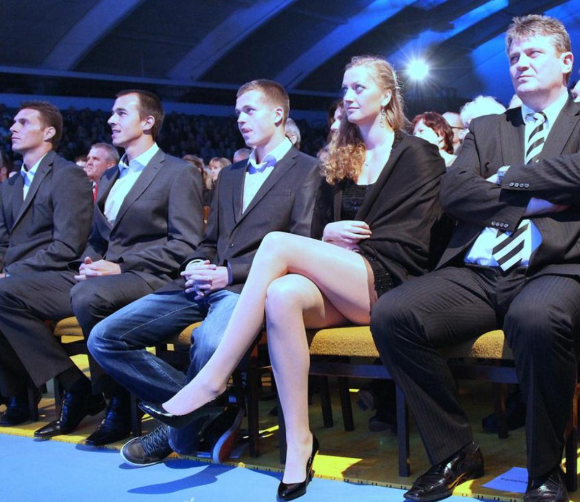 Kvitova long legs