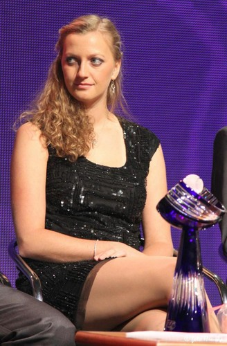 Kvitova showed hot legs
