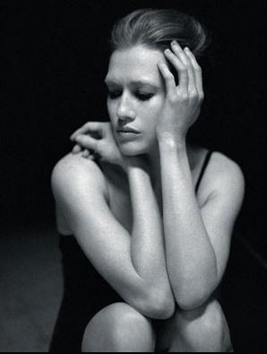 Mireille Enos Hintergrund containing skin entitled LA Times Magazine April 2012 feat. Mireille Enos