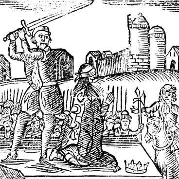 Lady Jane Grey's execution