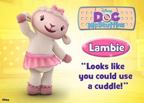 Doc Mcstuffins wallpaper titled Lambie