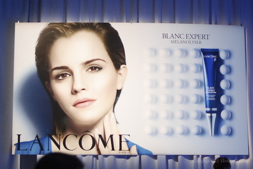 Lancome blanc Expert Melanolyser Ads