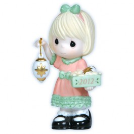 Light Your Heart With Christmas Joy - Dated 2012 Figurine