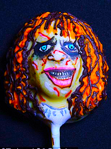 The Linda Blair Pretty Corner দেওয়ালপত্র titled Linda Blair Popsicle Cake