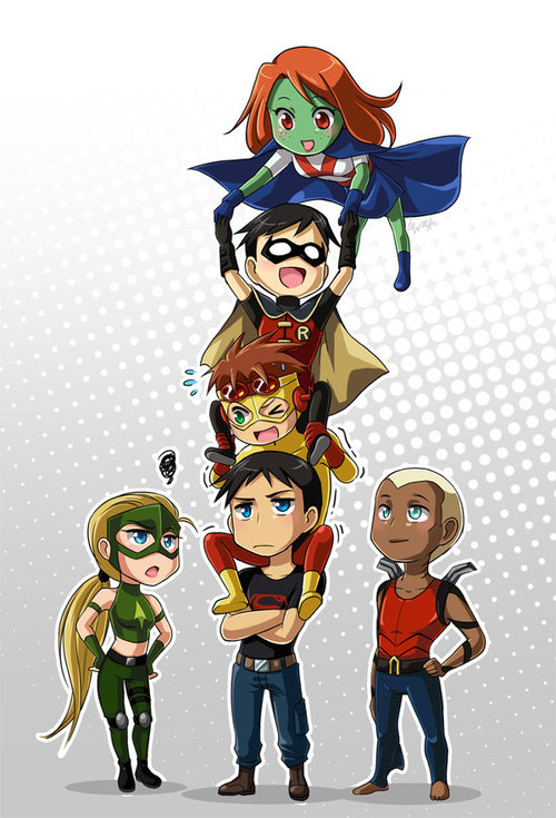 Literally Young Justice