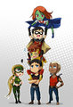 Literally Young Justice - young-justice fan art