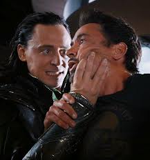 Loki and Tony Stark (Iron Man)
