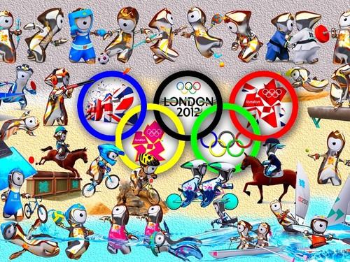 Лондон 2012 mascots