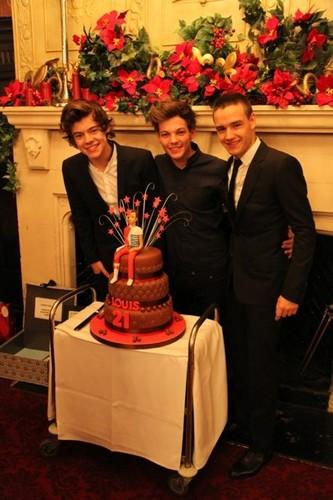 Louis' birthday cake