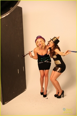 Lucy Hale & Ashley Benson wallpaper titled Amore