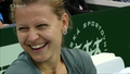 Lucie Safarova smile - tennis photo