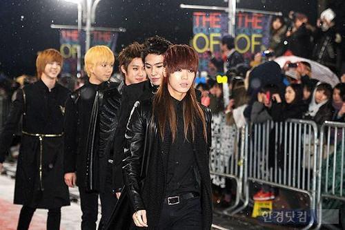 MBLAQ @2012 SBS Gayo Daejun