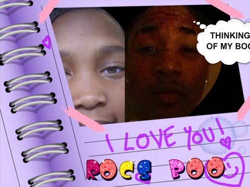 Roc Royal (Mindless Behavior) wallpaper probably with a sign titled ME AND MY HUSBEND ROC