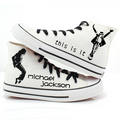 MJ canvas sneakers - michael-jackson photo