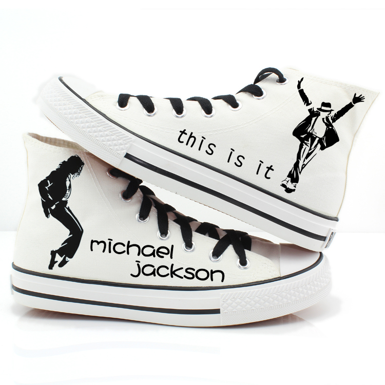 MJ canvas sneakers