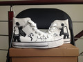 MJ customized converse - michael-jackson photo