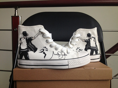 MJ customized converse