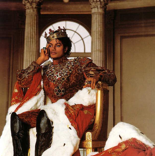 MJ king of POP