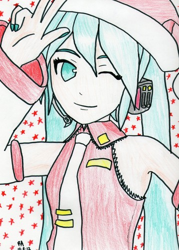 MPP Vocaloid drawings