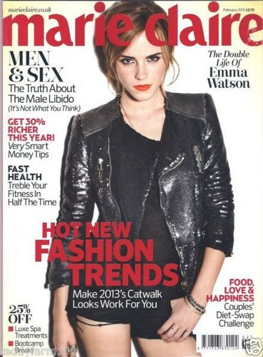 Marie Claire UK - February 2013