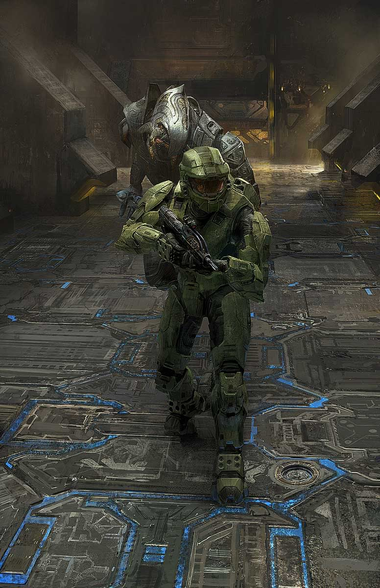 Master Chief and Arbiter
