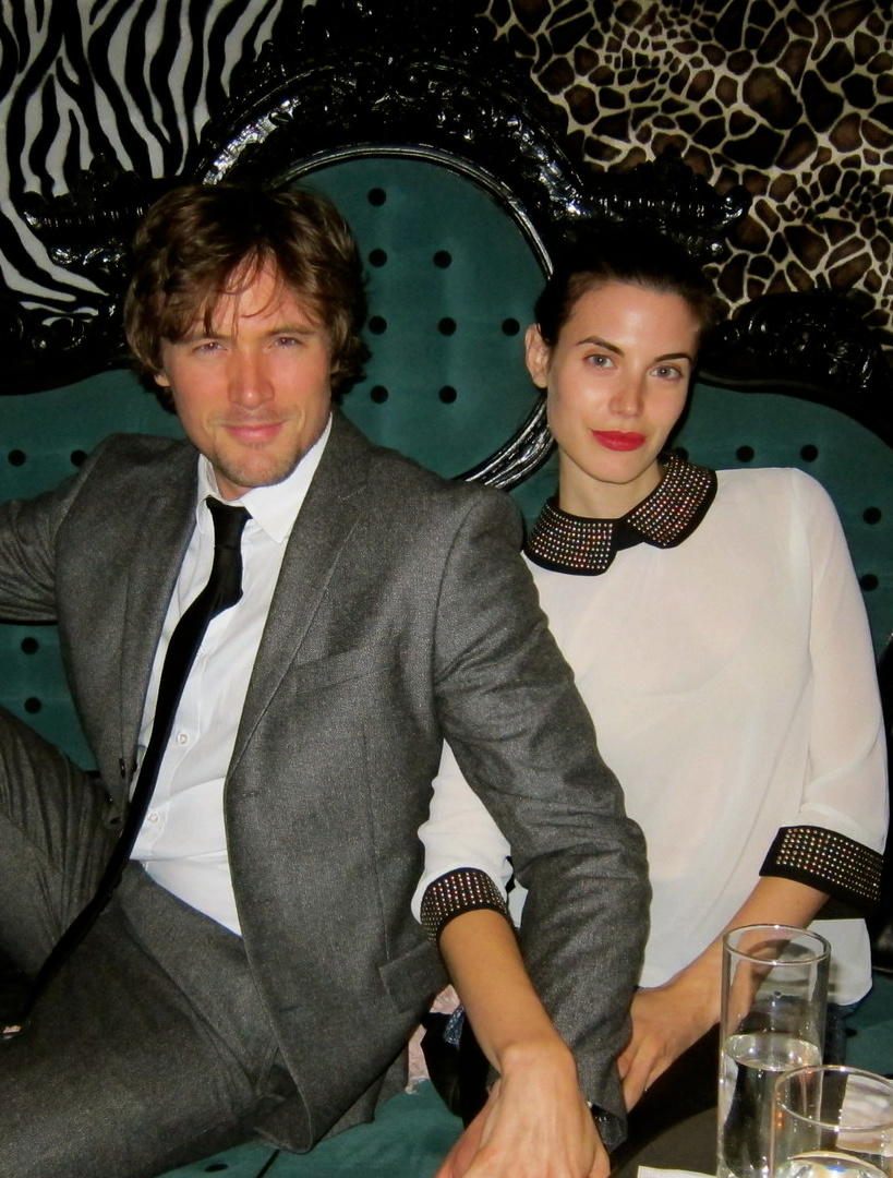 Meghan Ory with cool, Husband John Reardon