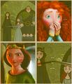 Merida and Elinor - brave photo