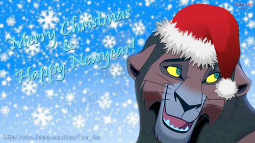Merry Natale Everybody !!! Disney Kovu Santa Lion