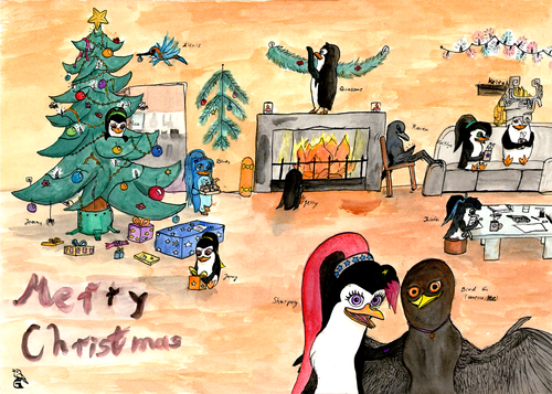 Merry Christmas Everyone (from Bird G)
