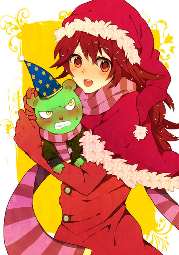 Merry pasko HTF Flaky and Flippy
