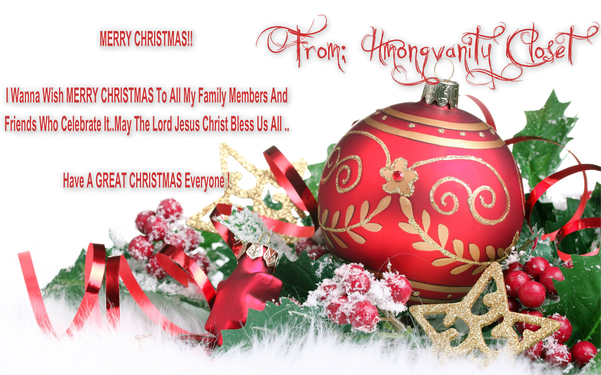 Merry Christmas and a happy New سال for