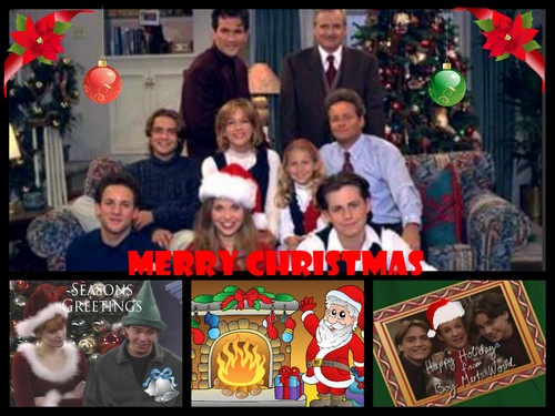 Boy Meets World wallpaper possibly with a diner, a newspaper, and anime titled Merry Christmas