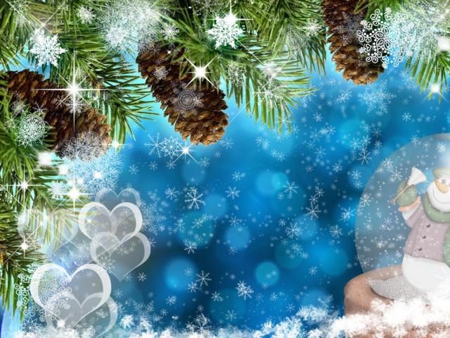 картинки на экран рабочего стола зима № 482129 бесплатно