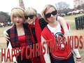 Merry Christmas from the Lalondes and Striders - homestuck photo