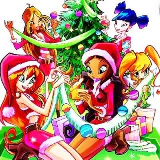 Merry Christmas to all Winx Fans.