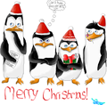 Merry (late) Chrstmas! :D - penguins-of-madagascar fan art