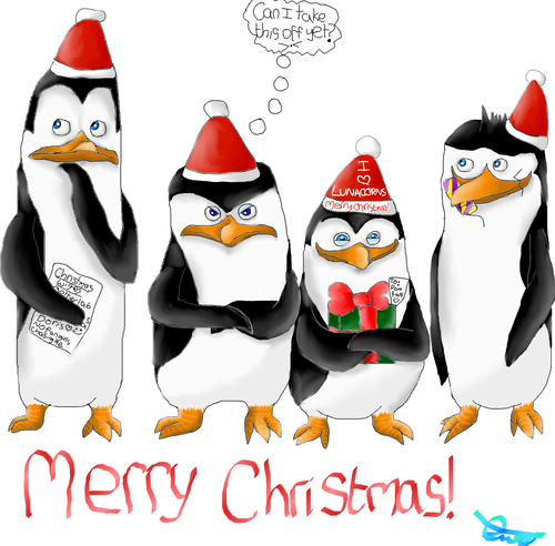 Penguins of Madagascar images Merry (late) Chrstmas! :D HD ...
