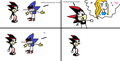 Metal sanic iz a real pal - shadow-the-hedgehog photo