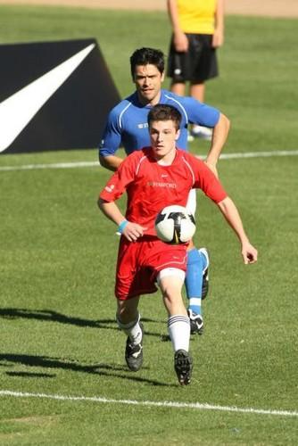 Mia Hamm Celebirty 축구 Challenge