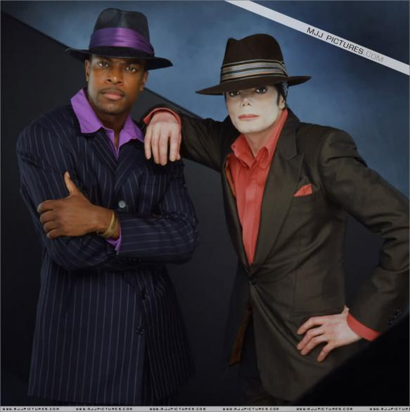 Michael And Good Friend, Chris Tucker
