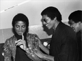 Michael And Older Brother, Jermaine - michael-jackson photo
