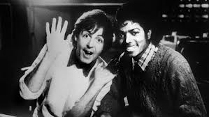 Michael And Sir Paul McCartney In The Recoring Studio Back In The Early-80's