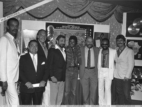 Michael And The Staff Of Epic Records Back In The Early-80's