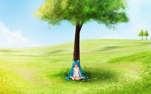hatsune miku wallpaper titled Miku Hatsune~