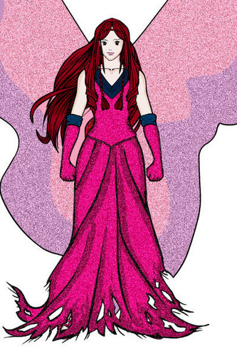Mirta fairy forms fan art