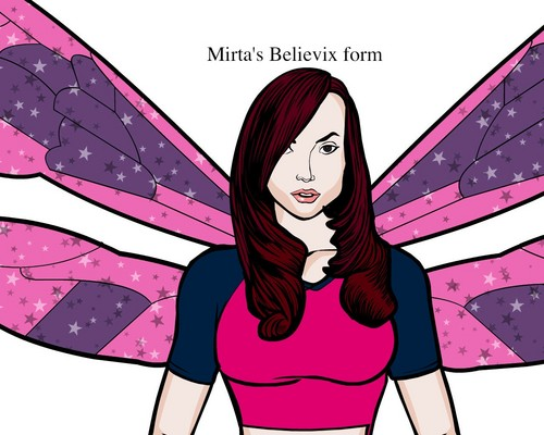Mirta's fairy forms shabiki art