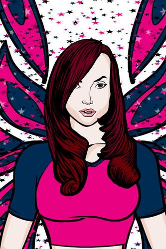 Mirta's fairy forms fan art