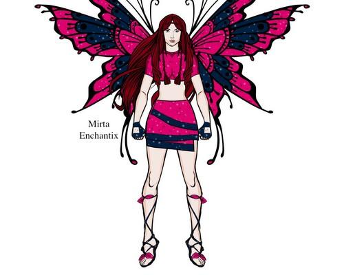 Mirta's fairy forms प्रशंसक art